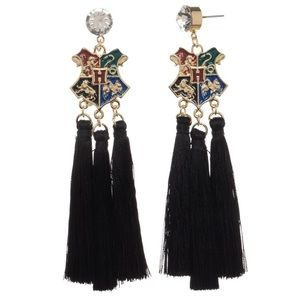 Harry Potter Hogwarts Tassel Earring